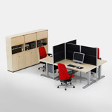 Series[f] - Desks (Office furniture)